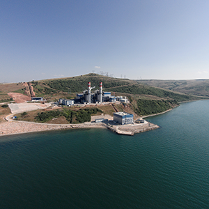The largest natural gas cycling plant was opened at Bandırma.
